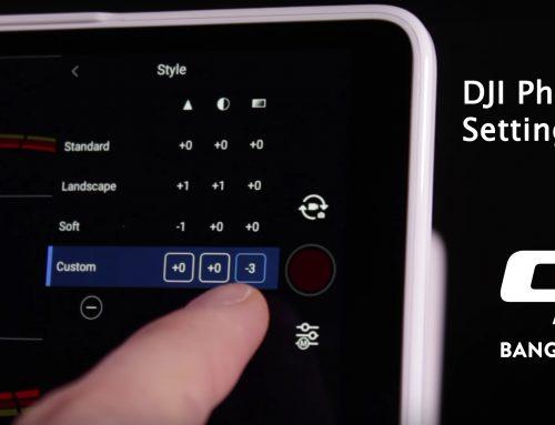 วิธีปรับกล้อง DJI Phantom 4 Pro
