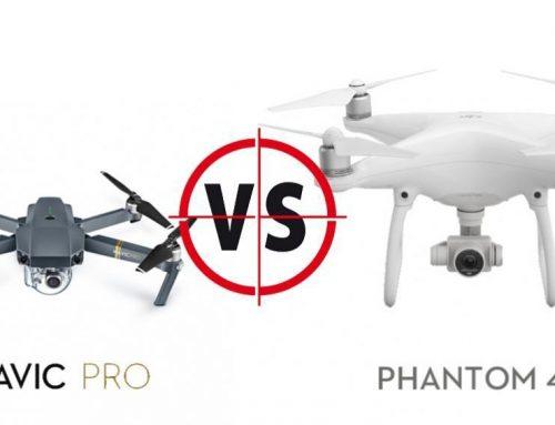 DJI Mavic Pro VS DJI Phantom 4 Pro รุ่นไหนเจ๋งกว่ากัน